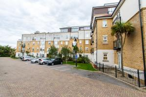 Outside  of Audley Court Forge Way, Southend-on-Sea, Essex