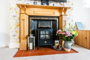 Fireplace of Bailey Road, Leigh-on-Sea, Essex