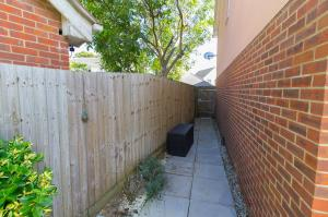 Side acess of Oaklands Mews, Rochford, Essex