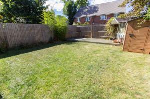 Rear garden of Oaklands Mews, Rochford, Essex
