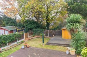 Rear garden of Pinewood Avenue, Leigh-on-Sea, Essex