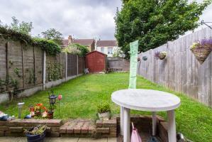 Garden of Tintern Avenue, Westcliff-on-Sea, Essex