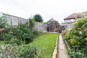 Garden of Colchester Road, Southend-on-Sea, Essex