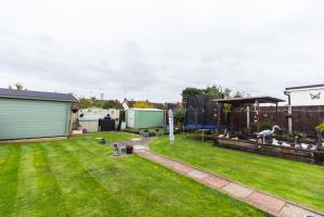 Garden of Feeches Road, Southend-on-Sea, Essex