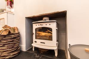 Log Burner of North Street, Leigh-on-Sea, Essex