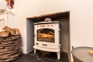 Log Burner of North Street, Leigh-on-Sea, Essex