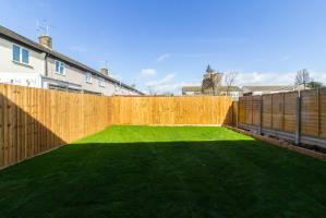 Garden of Tennyson Avenue, Southend-on-Sea, Essex