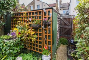 Garden of Brighton Avenue, Southend-on-Sea, Essex