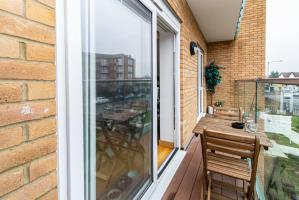 Balcony of Southchurch Avenue, Southend-on-Sea, Essex