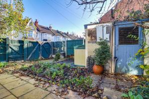 Garden with Parking Area of Pall Mall, Leigh-on-Sea, Essex